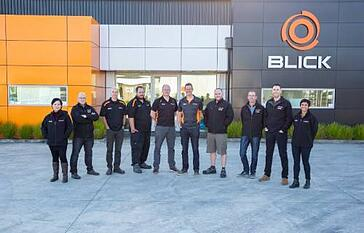 blick industrial nz team